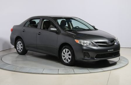 2012 Toyota Corolla CE AUTO A/C GR ELECT BLUETOOTH in Sept-Îles