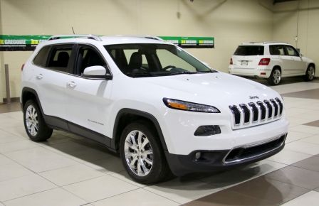 2014 Jeep Cherokee Limited AUTO A/C CUIR MAGS CAMERA RECUL in New Richmond