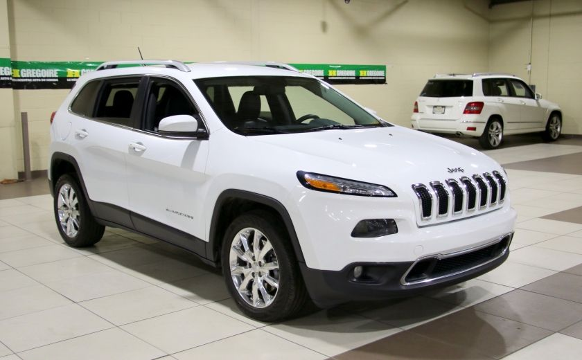 2014 Jeep Cherokee Limited AUTO A/C CUIR MAGS CAMERA RECUL #0