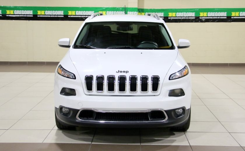 2014 Jeep Cherokee Limited AUTO A/C CUIR MAGS CAMERA RECUL #1