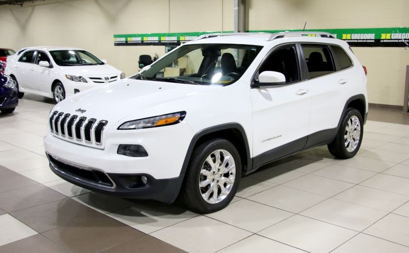 2014 Jeep Cherokee Limited AUTO A/C CUIR MAGS CAMERA RECUL #2