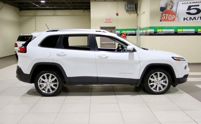 2014 Jeep Cherokee Limited AUTO A/C CUIR MAGS CAMERA RECUL #7
