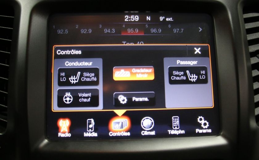 2014 Jeep Cherokee Limited AUTO A/C CUIR MAGS CAMERA RECUL #17