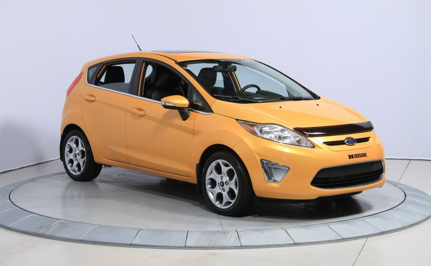 2011 Ford Fiesta SES AUTO A/C CUIR TOIT MAGS #0