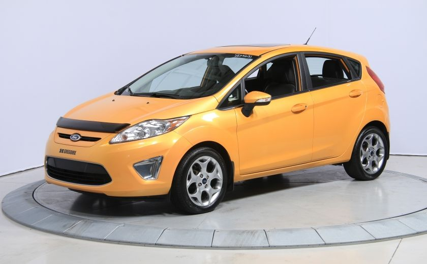 2011 Ford Fiesta SES AUTO A/C CUIR TOIT MAGS #2
