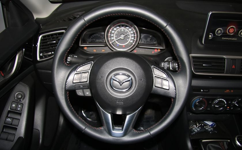 2015 Mazda 3 SPORT GS SKYACTIVE A/C GR ELECT CAMERA RECUL #13
