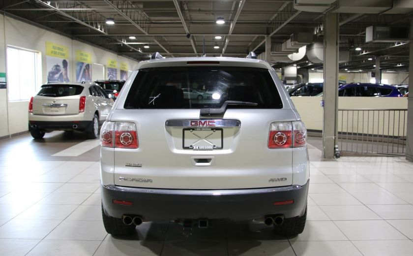 2011 GMC Acadia SLE1 AWD 8 PASSAGERS #5