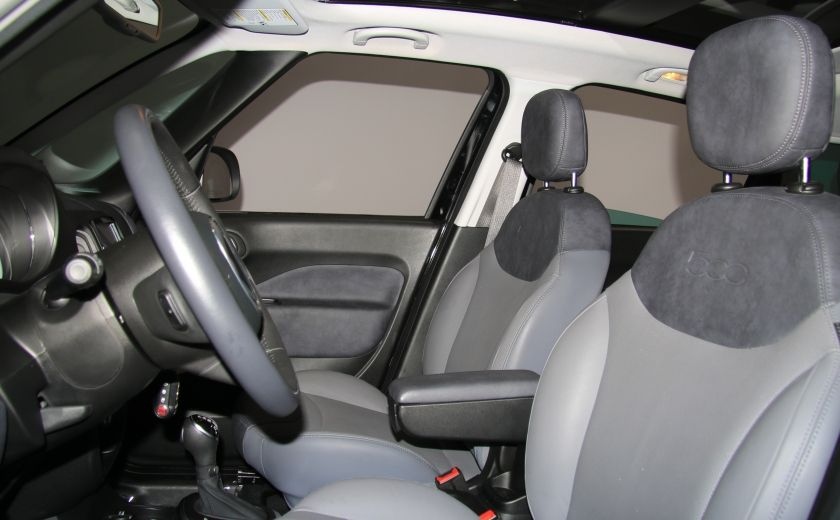 2015 Fiat 500L Lounge AUTOMATIQUE A/C MAGS BLUETHOOT CUIR TOIT #6