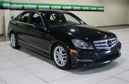 2013 Mercedes Benz C300 4MATIC AWD CUIR TOIT NAVIGATION in Abitibi