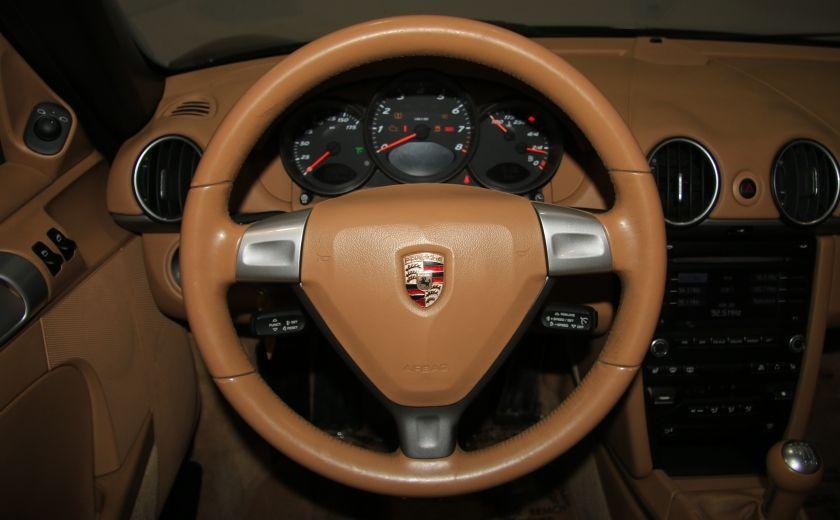 2009 Porsche Boxster A/C CUIR DÉCAPOTABLE MAGS #19