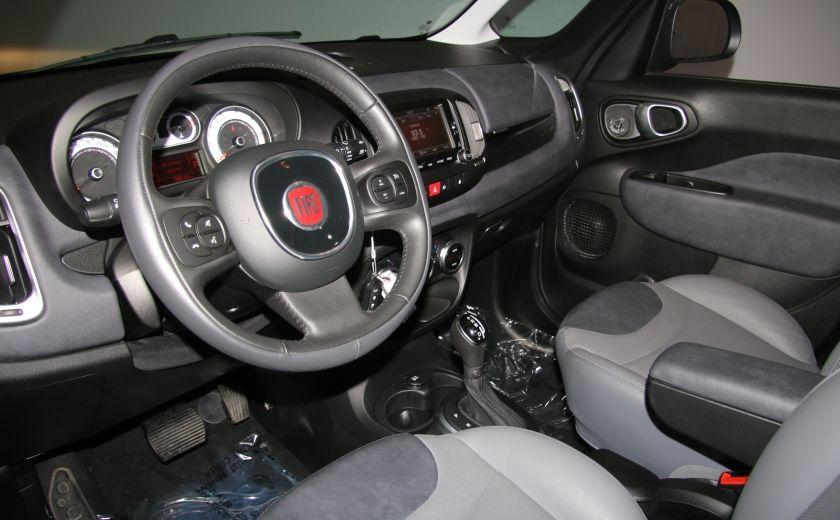 2015 Fiat 500L Lounge AUTOMATIQUE A/C MAGS BLUETHOOT CUIR TOIT NA #8