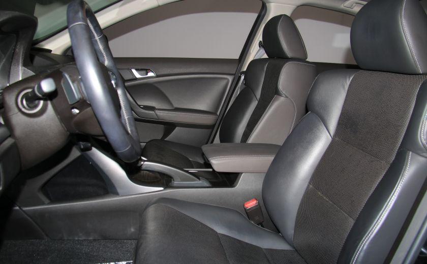 2012 Acura TSX w/Premium Pkg AUTOMATIQUE A/C MAGS BLUETHOOT CUIR #8