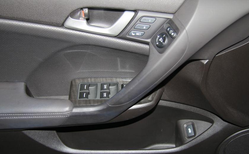2012 Acura TSX w/Premium Pkg AUTOMATIQUE A/C MAGS BLUETHOOT CUIR #9