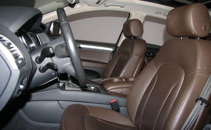 2011 Audi Q7 3.0L AWD AUTO A/C CUIR TOIT PANO MAGS #9