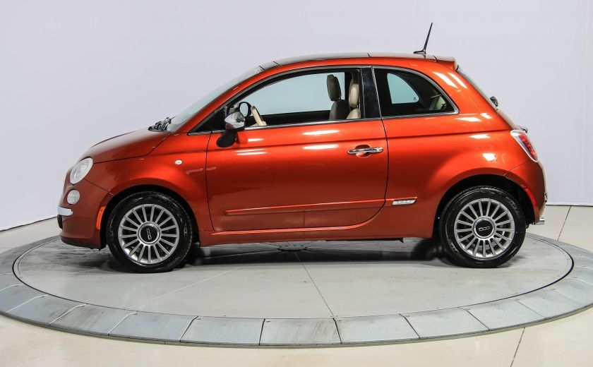 2012 Fiat 500 Lounge AUTO A/C CUIR TOIT MAGS #3