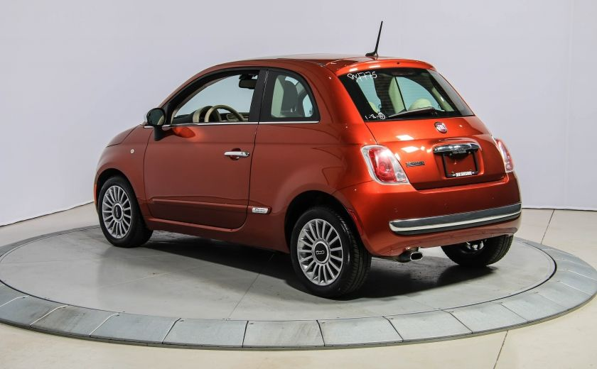 2012 Fiat 500 Lounge AUTO A/C CUIR TOIT MAGS #4