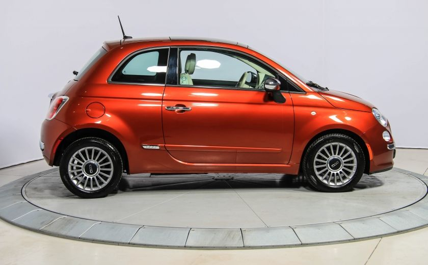 2012 Fiat 500 Lounge AUTO A/C CUIR TOIT MAGS #7