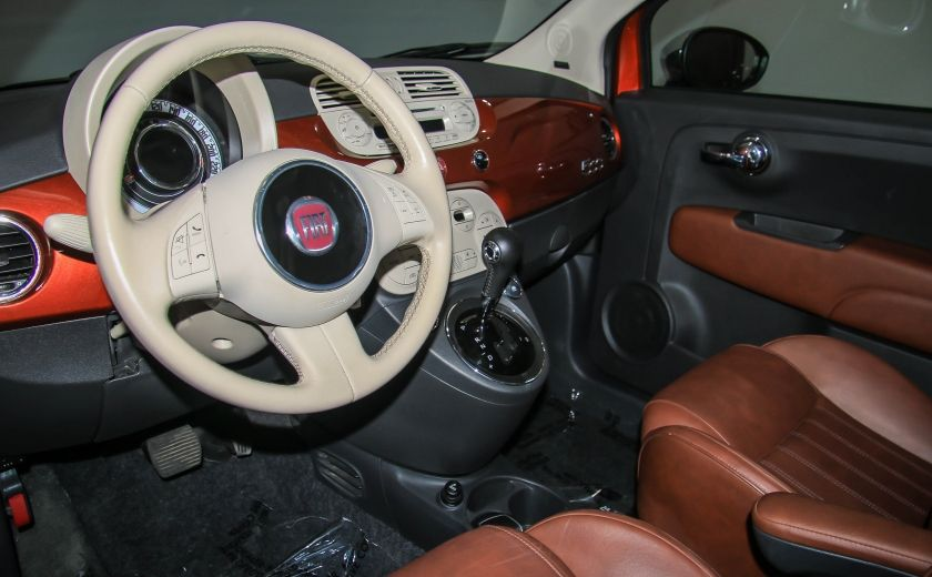 2012 Fiat 500 Lounge AUTO A/C CUIR TOIT MAGS #8