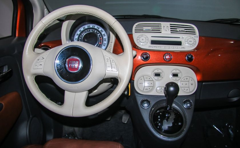 2012 Fiat 500 Lounge AUTO A/C CUIR TOIT MAGS #13