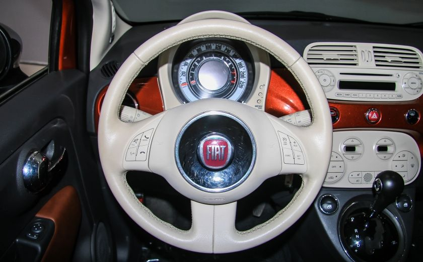 2012 Fiat 500 Lounge AUTO A/C CUIR TOIT MAGS #14