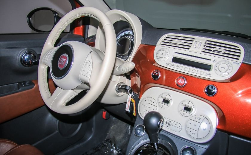 2012 Fiat 500 Lounge AUTO A/C CUIR TOIT MAGS #23