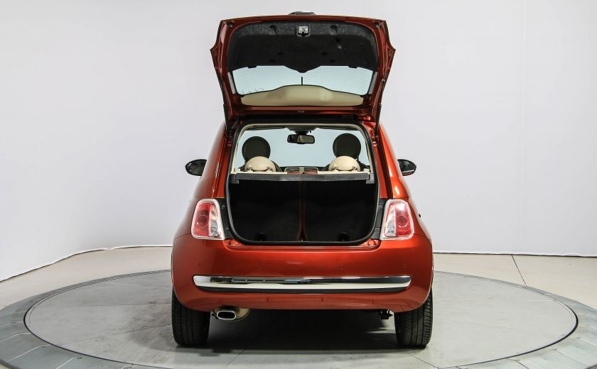 2012 Fiat 500 Lounge AUTO A/C CUIR TOIT MAGS #27