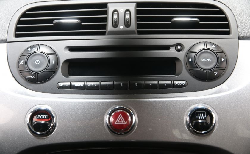 2015 Fiat 500 Sport AUTOMATIQUE A/C MAGS BLUETHOOT #11