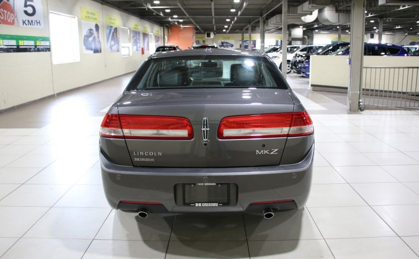 2012 Lincoln MKZ AUTO A/C CUIR TOIT MAGS #4