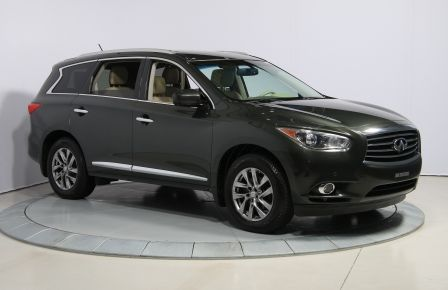 2013 Infiniti JX35 AWD AUTO A/C CUIR TOIT MAGS 7 PASS in New Richmond