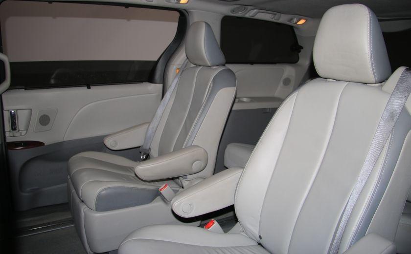 2013 Toyota Sienna XLE AWD CUIR TOIT DVD NAV MAGS BLUETOOTH #25