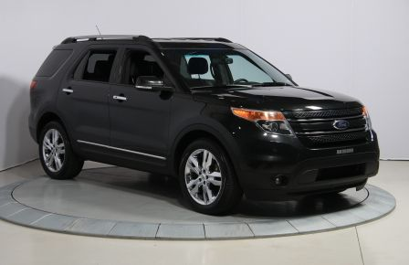 2014 Ford Explorer Limited 4WD CUIR MAGS BLUETOOTH 7PASSAGERS #0