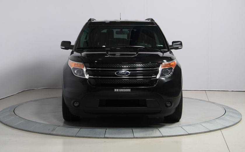 2014 Ford Explorer Limited 4WD CUIR MAGS BLUETOOTH 7PASSAGERS #1