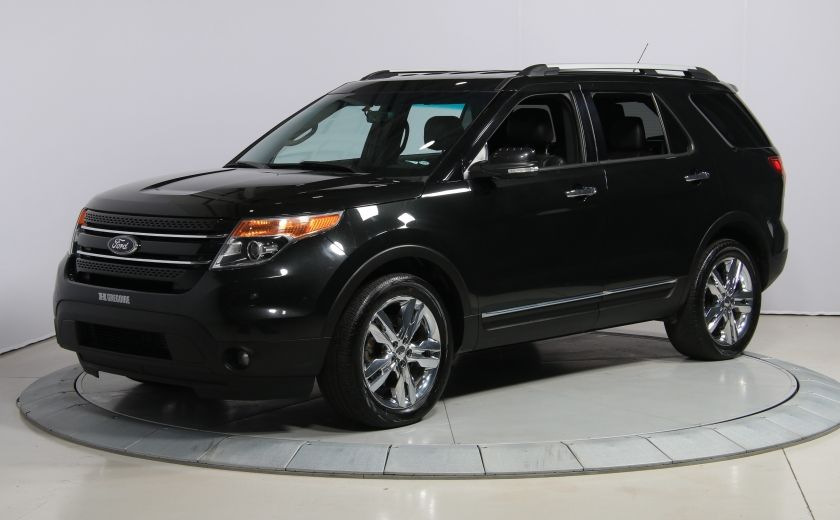 2014 Ford Explorer Limited 4WD CUIR MAGS BLUETOOTH 7PASSAGERS #2