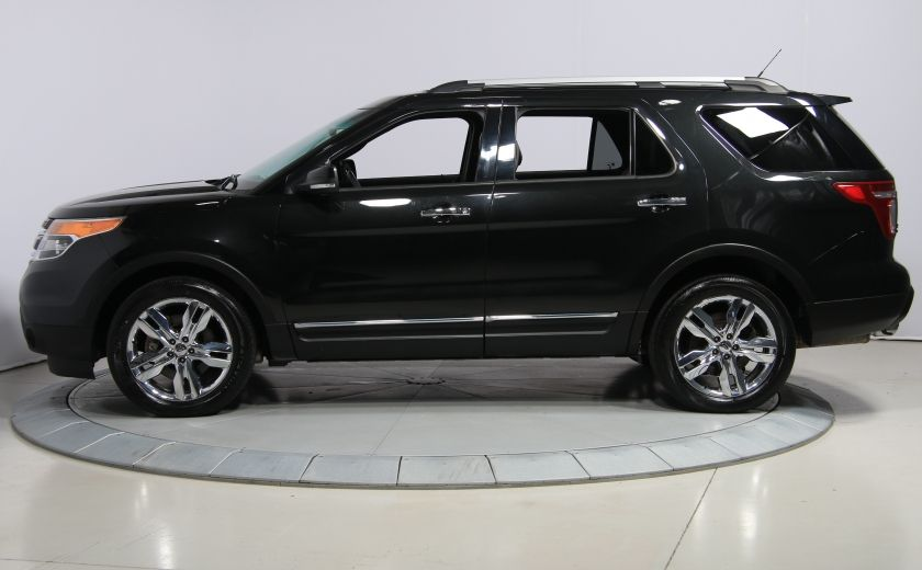 2014 Ford Explorer Limited 4WD CUIR MAGS BLUETOOTH 7PASSAGERS #3