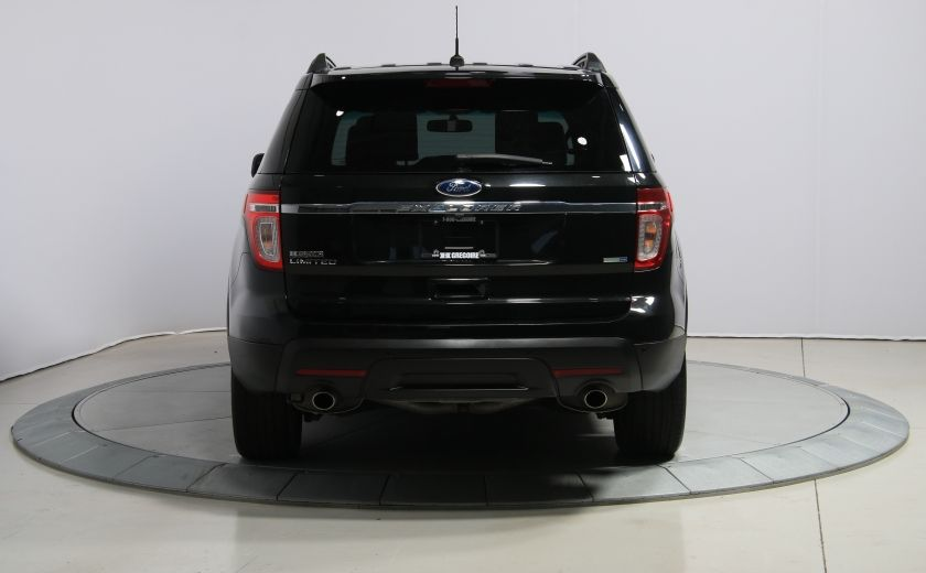 2014 Ford Explorer Limited 4WD CUIR MAGS BLUETOOTH 7PASSAGERS #5