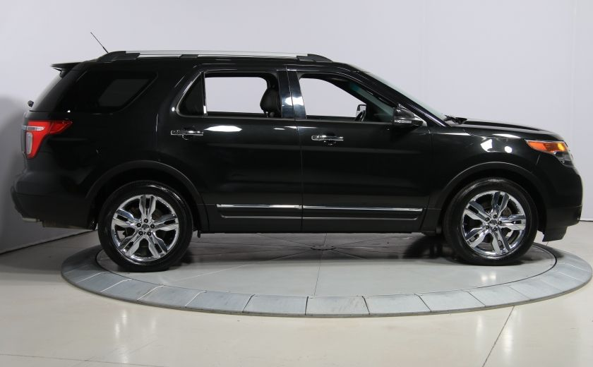 2014 Ford Explorer Limited 4WD CUIR MAGS BLUETOOTH 7PASSAGERS #7