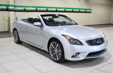 2014 Infiniti Q60 Sport AUTO A/C CUIR CONVERTIBLE MAGS in New Richmond