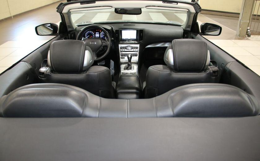 2014 Infiniti Q60 Sport AUTO A/C CUIR CONVERTIBLE MAGS #25