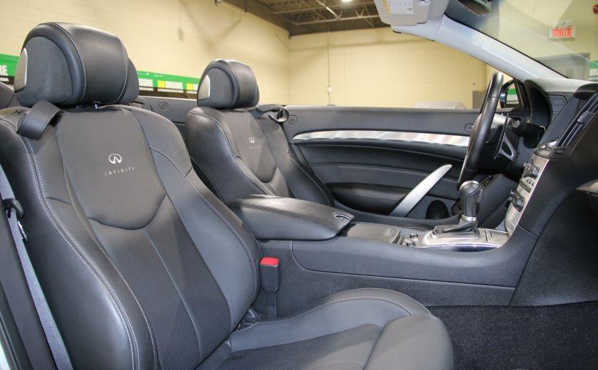 2014 Infiniti Q60 Sport AUTO A/C CUIR CONVERTIBLE MAGS #30