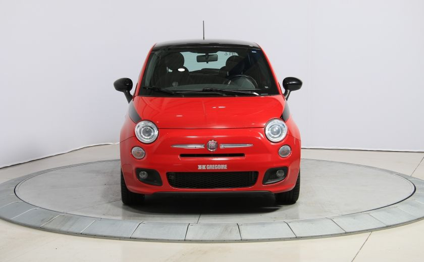 2012 Fiat 500 Sport A/C TOIT MAGS BLUETOOTH #1
