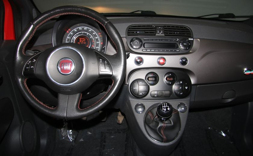 2012 Fiat 500 Sport A/C TOIT MAGS BLUETOOTH #13