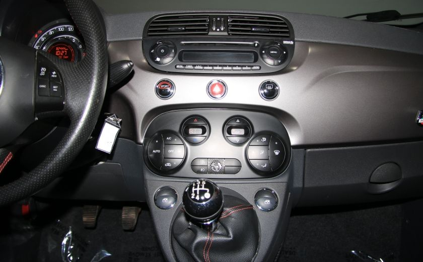 2012 Fiat 500 Sport A/C TOIT MAGS BLUETOOTH #15