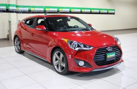 2014 Hyundai Veloster Turbo w/Matte Grey A/C MAGS BLUETHOOT CUIR TOIT in Brossard