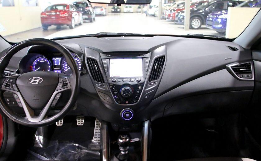 2014 Hyundai Veloster Turbo w/Matte Grey A/C MAGS BLUETHOOT CUIR TOIT #13