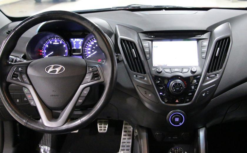 2014 Hyundai Veloster Turbo w/Matte Grey A/C MAGS BLUETHOOT CUIR TOIT #14