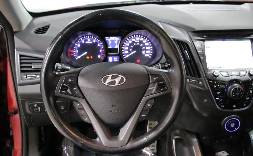 2014 Hyundai Veloster Turbo w/Matte Grey A/C MAGS BLUETHOOT CUIR TOIT #15