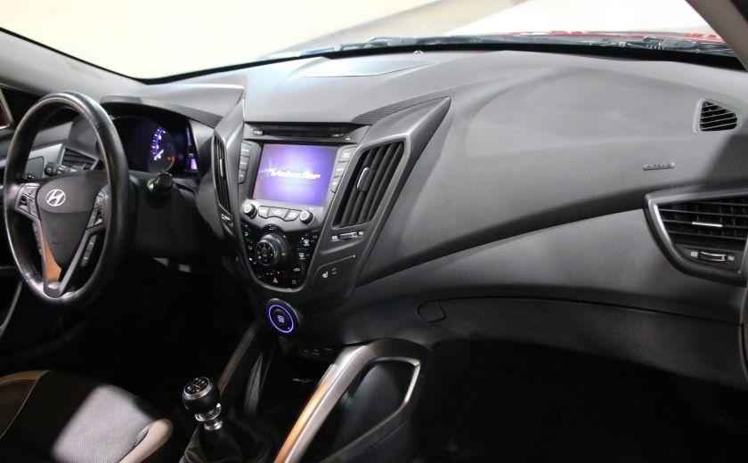 2014 Hyundai Veloster Turbo w/Matte Grey A/C MAGS BLUETHOOT CUIR TOIT #24