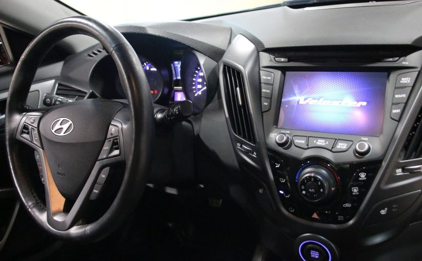 2014 Hyundai Veloster Turbo w/Matte Grey A/C MAGS BLUETHOOT CUIR TOIT #25