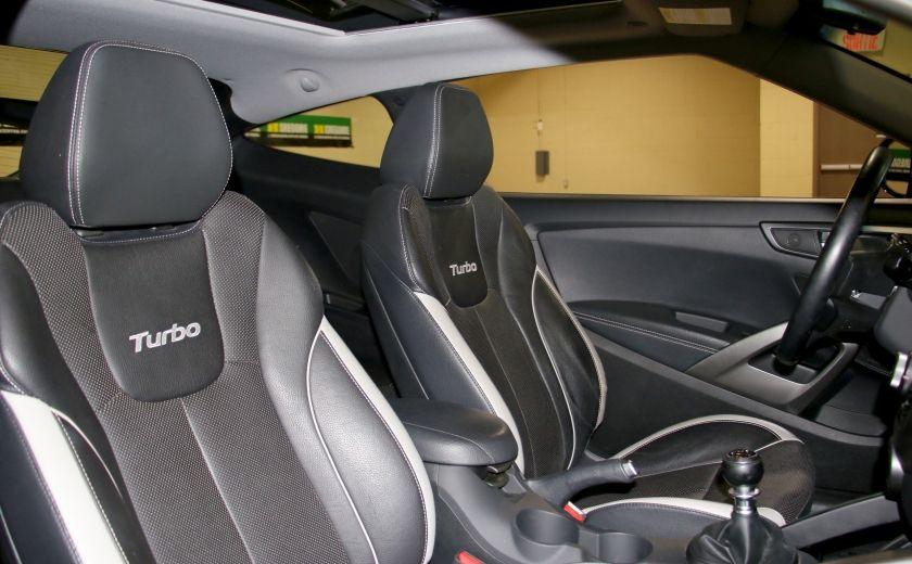 2014 Hyundai Veloster Turbo w/Matte Grey A/C MAGS BLUETHOOT CUIR TOIT #26