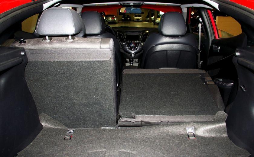 2014 Hyundai Veloster Turbo w/Matte Grey A/C MAGS BLUETHOOT CUIR TOIT #31